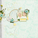 layout by pne123 featuring butterflies: drawn and spritz by sahlin studio