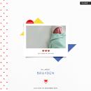 Celebrate digital scrapbooking page by Tronesia using Celebrate Kit by sahlin studio