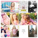 Week 35 digital pocket scrapbooking double page by britt using Celebrate Kit by sahlin studio
