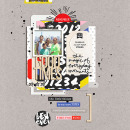 Good Times digital scrapbooking page by marnel using Celebrate Kit by sahlin studio