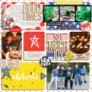 Good Times digital pocket scrapbooking page by mikinenn using Celebrate Kit by sahlin studio