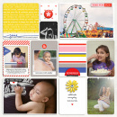 Good Times digital pocket scrapbooking double page by mrivas2181 using Celebrate Kit by sahlin studio