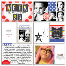 Good Times digital Project Life page by scrapsandsass using Celebrate Kit by sahlin studio