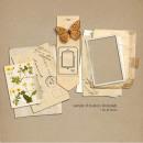 Sample Clusters of Layerable Ephemera Paper Stacks by Sahlin Studio