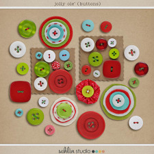 Jolly Ole' (Buttons) by Sahlin Studio