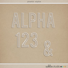 Plastic Alpha by Sahlin Studio