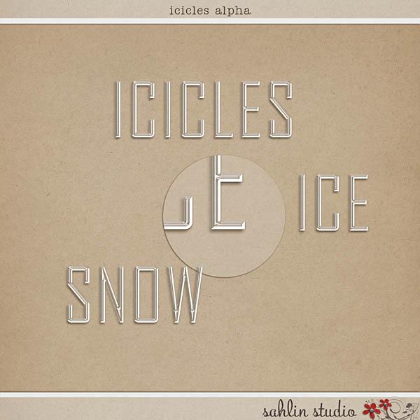 Icicles Alpha by Sahlin Studio