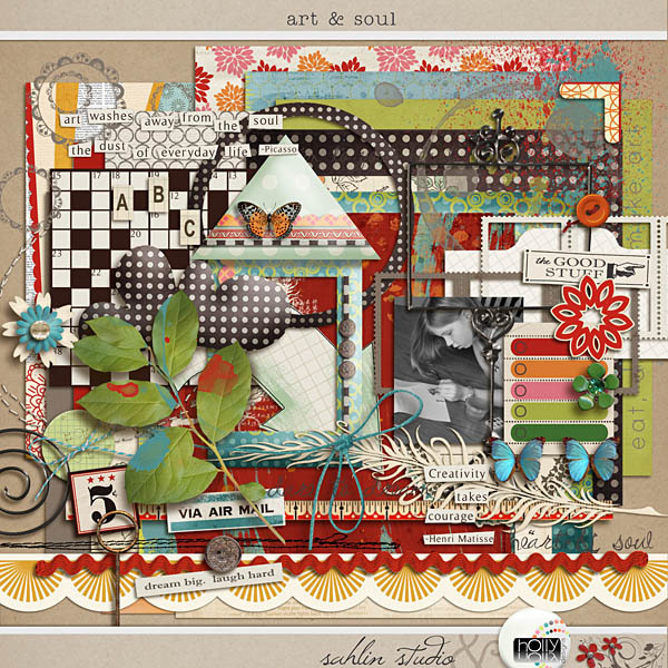 Art & Soul by Holly Designs and Sahlin Studio