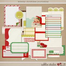 Kitschy Christmas Journaling by Sahlin Studio