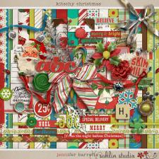 Kitschy Christmas by Jennifer Barrette and Sahlin Studio