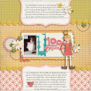 layout featuring Journal Graph Cards by Sahlin Studio