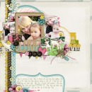 layout by britt featuring Journal Graph Cards by Sahlin Studio