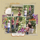 layout by kristasahlin featuring Recycled Paper Flowers: Graffiti and Journal Graph Cards Vol. 2 by Sahlin Studio