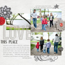 layout by kristasahlin featuring Plastic Alpha by Sahlin Studio
