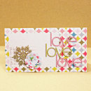 card by Cristina featuring Vintage Poinsettia by Sahlin Studio and Precocious Paper