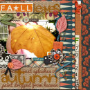 layout featuring Snipettes: The Perfect Pumpkin by Sahlin Studio