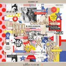 Celebrate (Kit) | Digital Scrapbook Collection | Sahlin Studio