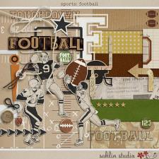 Sports: Football by Sahlin Studio
