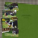 layout featuring Sports: Football and Snipettes: Sports-Football by Sahlin Studio