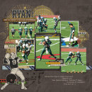 layout featuring Varsity Jersey Alpha, Sports: Football and Snipettes: Sports-Football by Sahlin Studio