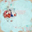 layout by Arumrose featuring Painted: Fresh Snow Papers, Writing in the Snow and Icicles Alpha by Sahlin Studio
