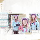 layout by kristasahlin featuring Painted: Fresh Snow Papers, Writing in the Snow and Icicles Alpha by Sahlin Studio