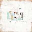 layout by wombat146 featuring Painted: Fresh Snow Papers by Sahlin Studio