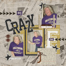 layout featuring Varsity Jersey Alpha and Sports: Football by Sahlin Studio