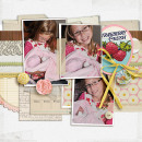 layout created by kristasahlin featuring Vintage Labels: Sweet Sips by Sahlin Studio