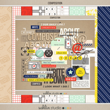 Composition (Kit) by Sahlin Studio