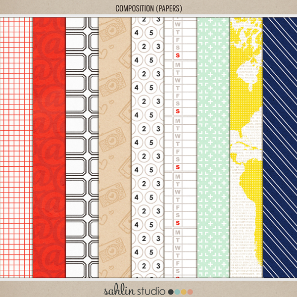 Composition (Papers) by Sahlin Studio