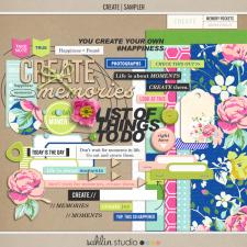 Create (Kit Sampler) by Sahlin Studio