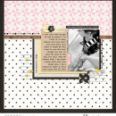 Digital scrapbooking inspiration page using Project Mouse: Main Street by Britt-ish Designs and Sahlin Studio