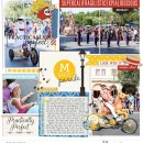 Project Life inspiration page by fonnetta using Project Mouse: Main Street by Britt-ish Designs and Sahlin Studio