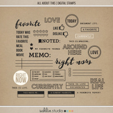 All About This (Digital Stamps) by Sahlin Studio