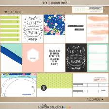 Create (Journal Cards) by Sahlin Studio