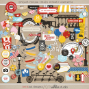 Project Mouse (Main Street): Elements by Britt-ish Designs and Sahlin Studio