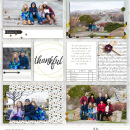 digital pocket scrapbooking layout by aballen featuring mpm home add on: gather.