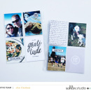 Digital Project Life layout featuring MPM: Home and Gather by Sahlin Studio