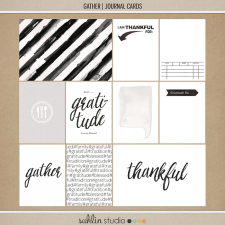Gather | Journal Cards By Sahlin Studio