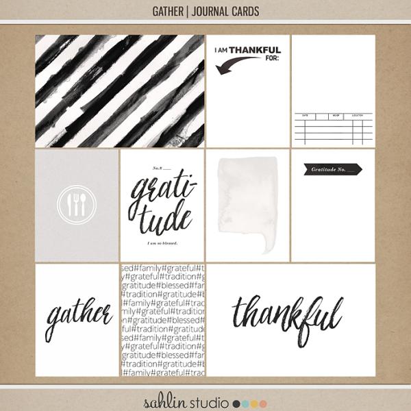 Gather   Journal Cards By Sahlin Studio