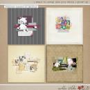digital scrapbooking layouts featuring I Wanna Scrap Like You When I Grow Up Templates: 1girlg1boy by Sahlin Studio