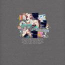 digital scrapbooking layout featuring I Wanna Scrap Like You When I Grow Up Templates: 1girlg1boy by Sahlin Studio