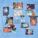digital scrapbooking layout featuring Text on Path: All Around by Sahlin Studio