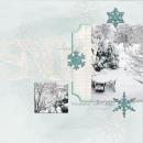 digital scrapbooking layout featuring Capturing Life Word Art by Sahlin Studio