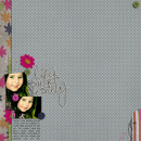 digital scrapbooking layout featuring I Wanna Scrap Like You When I Grow Up Templates: cnscrap by Sahlin Studio