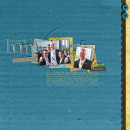 digital scrapbook layout featuring Snipettes: Fall by Sahlin Studio