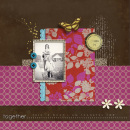 digital scrapbooking layout featuring Say It With Metal: Fall by Sahlin Studio