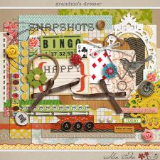 Grandma's Dresser by Sahlin Studio