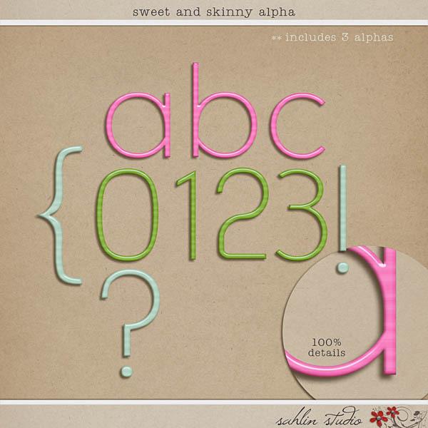 Sweet and Skinny Alpha by Sahlin Studio